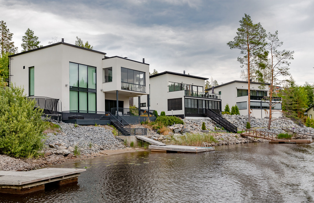 Saaristokaupunki, Kuopio. Kuvaaja Ninara Flickr'stä.