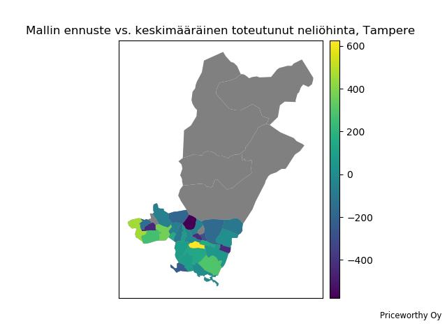 Mistä tekoälyn mielestä Tampereella kannattaa etsiä asuntoa juuri nyt?